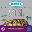 KMC Chaîne X11SL Ti Or